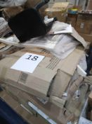 Pallet To Contain A Number Of Assorted Flatpack Items In Part Lots