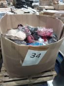 Pallet To Contain An Assortment Of Women's Bras In Various Sizes, Colours And Designs