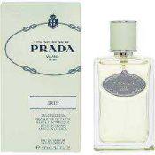 RRP £80 Boxed Ex Tester Bottle Prada Milano Iris 100Ml Eau De Parfum