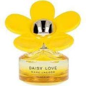 RRP £60 Full Unboxed Ex Tester Marc Jacobs Daisy Love Sunshine Eau De Toilette Women's Perfume Spray