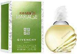 RRP £80 Boxed Unused Ex Display Tester Bottle Of Givenchy Amarige Marriage 100Ml Edp