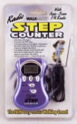 RRP £100 Lot To Contain 48 Brand New Boxed Radio Walkmate Step Counter With Auto Scan Fm Radio