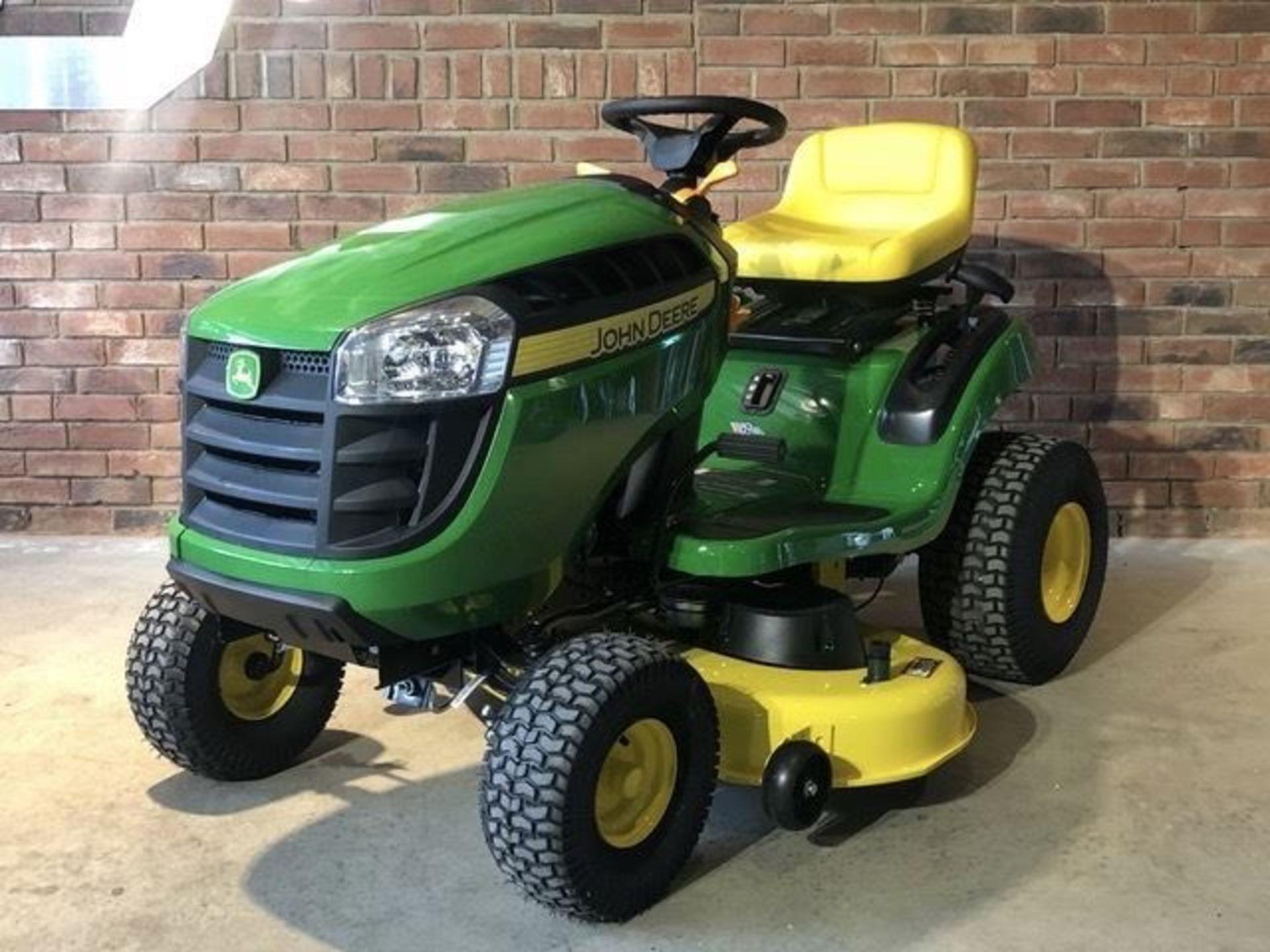 Los 5 - John Deere 42in Ride On Tractor Mower