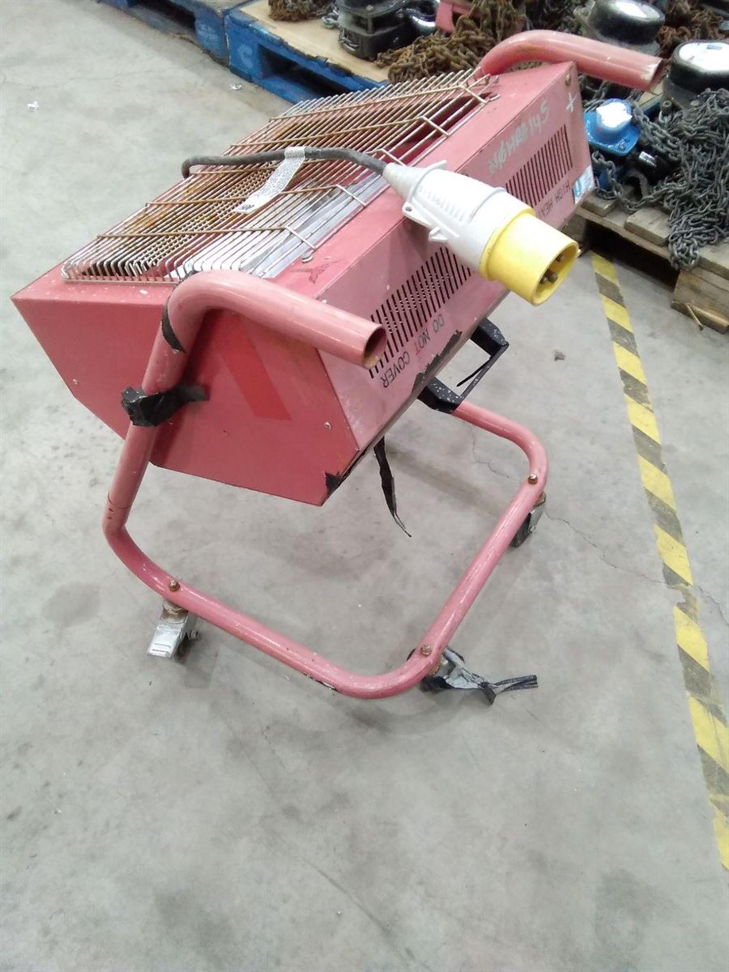 Lot 197 - Infra Red Radiant Heater 240V