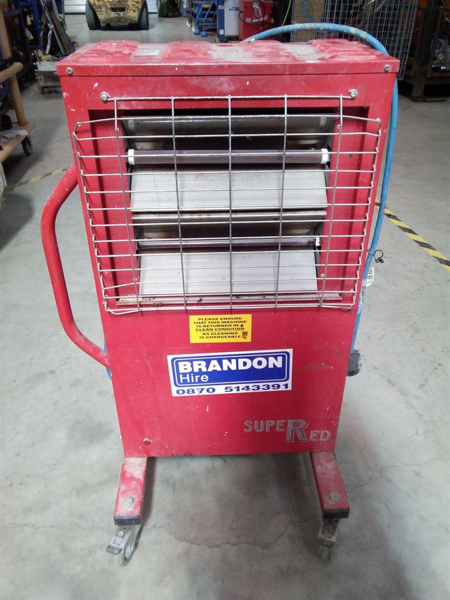 Lot 198 - Super Red Infra Red Radiant Heater 240V
