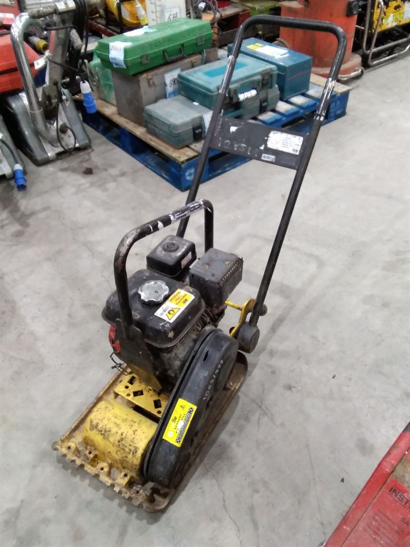 Lot 4 - Wacker VP1135A Petrol Plate Compactor