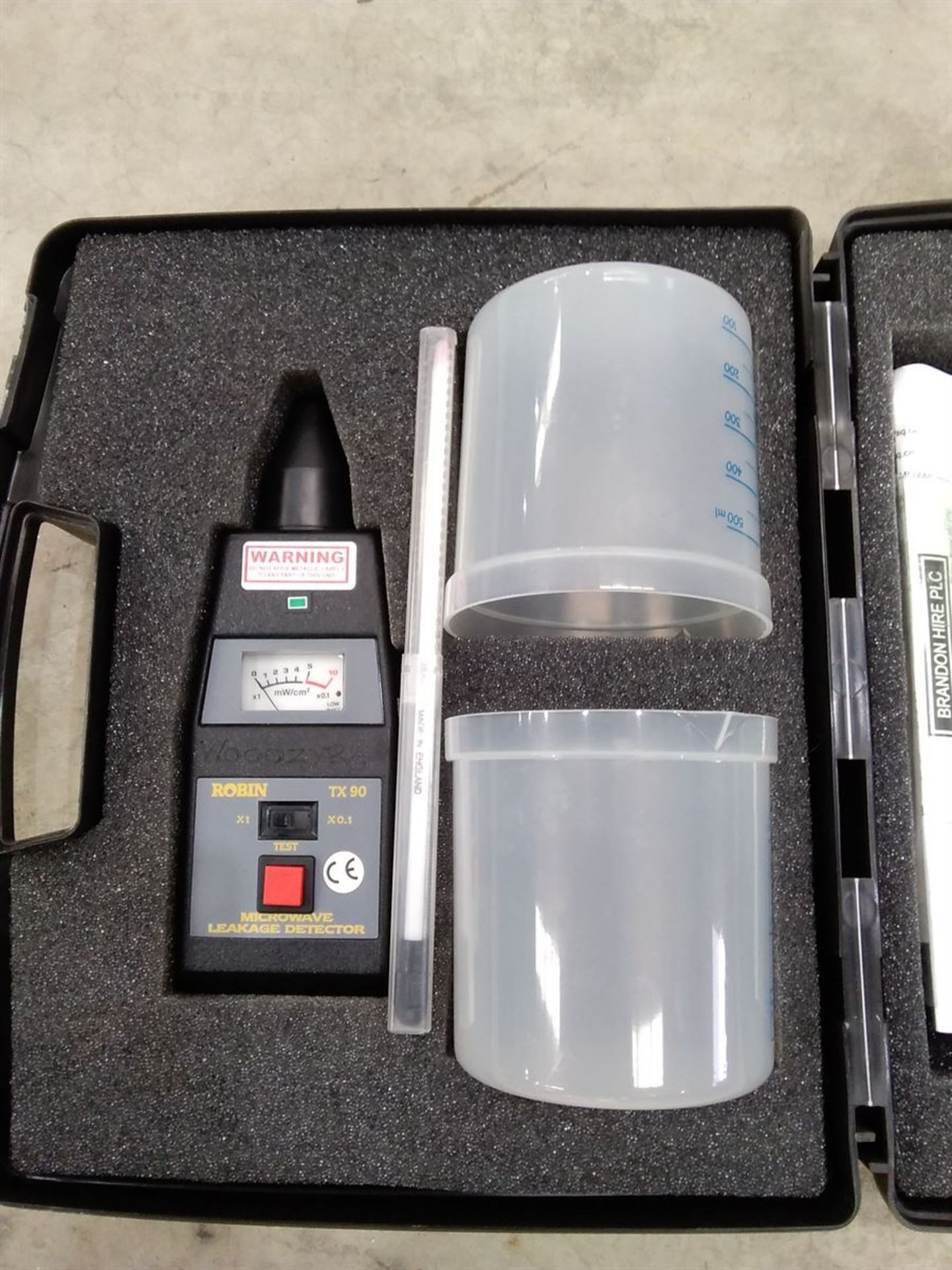 Lot 54 - Robin TX90 Microwave Leakage Detector