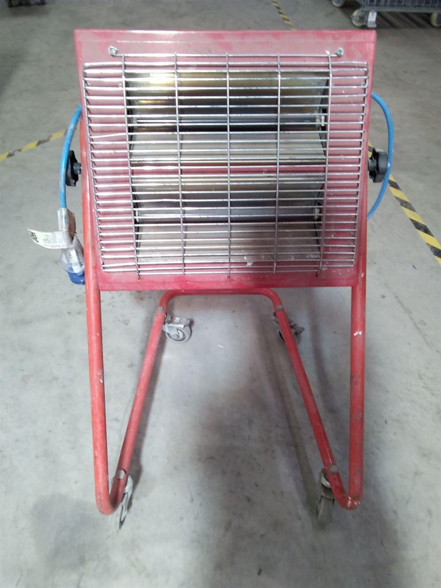 Lot 196 - Super Red Infra Red Radiant Heater 240V