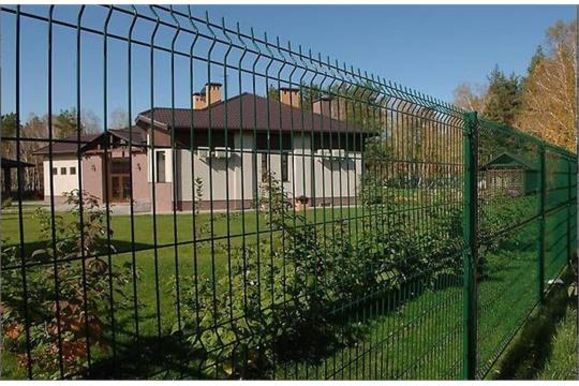 Lot 14 - 50 x Meters in 2.1h x 2.5w sections of New V BEAM Heavy Duty Security Fencing