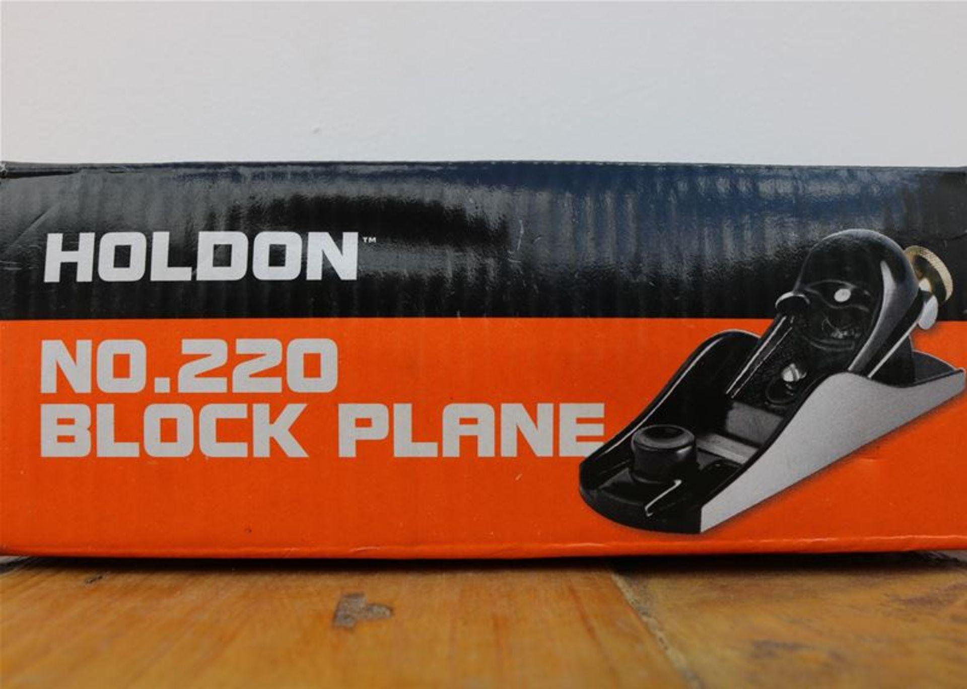 Los 61 - 10 x HOLDON No.220 Block Plane