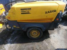 2014 Atlas Copco XAS67 Compressor