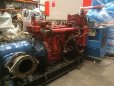 Waukesha F817GU 6 Cylinder Natural Gas Engine
