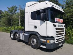 2014 Scania G-SRS L-CLASS (SERIES-1) Tractor (Heavy Haulage)