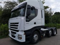 2013 IVECO Trails 6x2 450bhp Active Space Cab Tractor (Heavy Haulage)