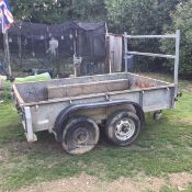 Ifor williams builders/plant trailer gd85g 8x5
