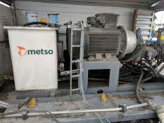 2012 Metso Electric Motor Set
