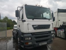 2003 ERF ect Manual Comfort Shift 4x2 Tractor (Heavy Haulage)