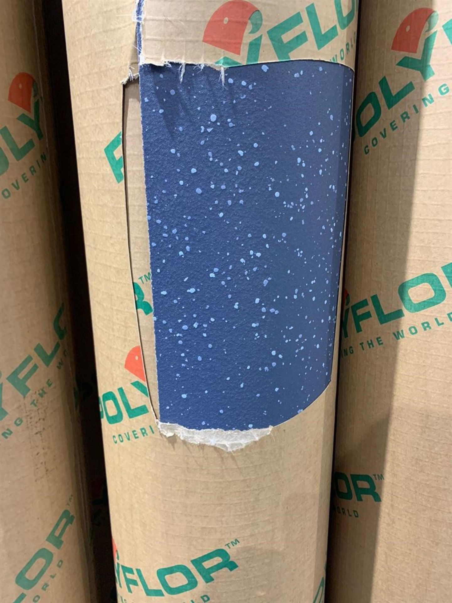 Lot 33 - 20m x 2m Total 40m2 Polysafe Quicklay Blue