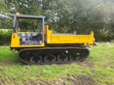 Morooka MST 800 6 ton tracked tipping machine. 4300kg capacity
