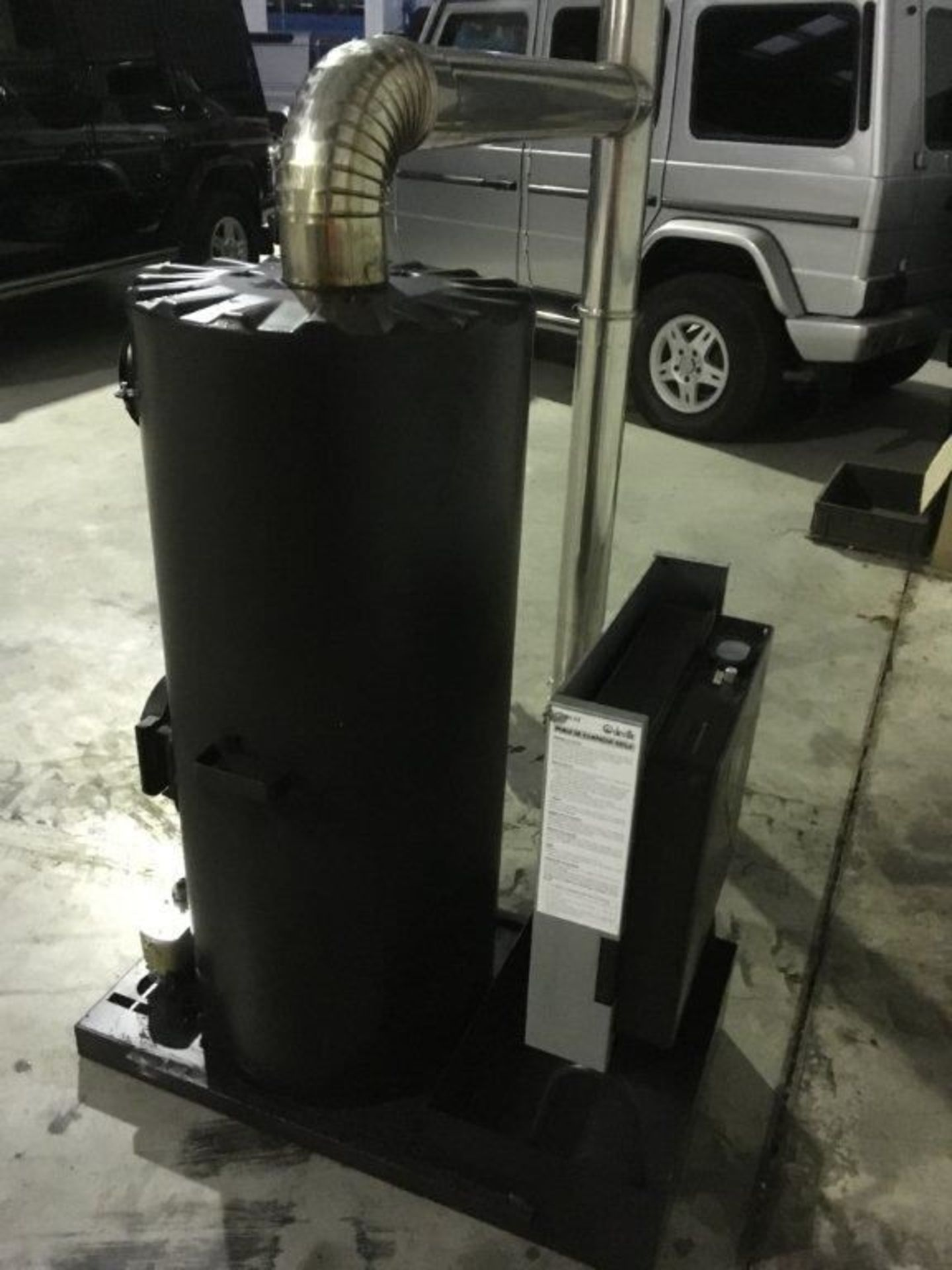 1 x Deville Multi Fuel Heaters with the Blue Flame Technology - Image 9 of 18