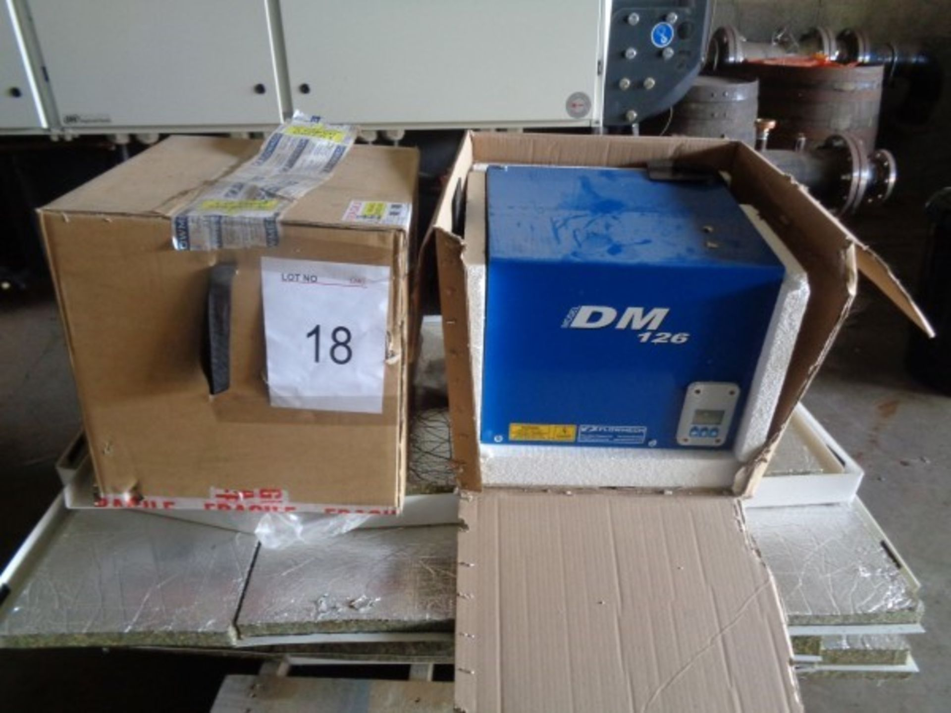2 x Flowmeter model DM126 Pump sets