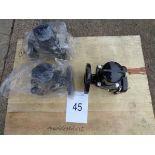 3 x Blakebourgh HI-C vent PN16 vent actuated vent valves