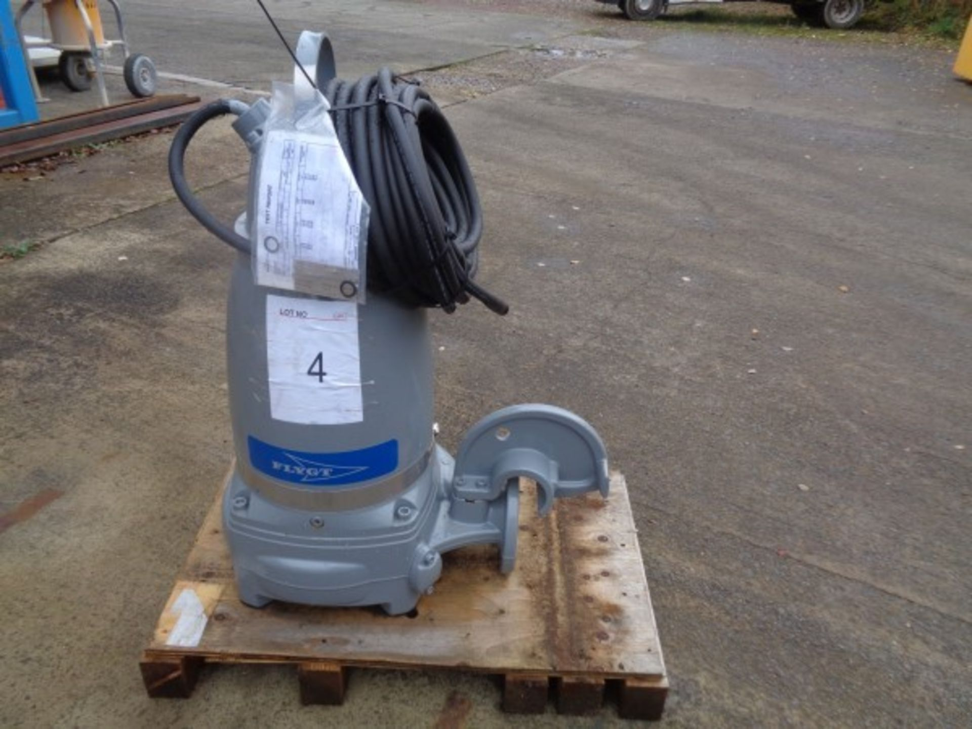 Flygt Xylem type 3171.181 submersible pump, serial no 1910024