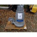 Flygt Xylem type 3171.181 submersible pump, serial no 1910026
