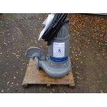 Flygt Xylem type 3153.181 submersible pump, serial no 1910129