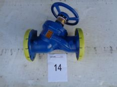 Hattersley model MH733 PN16 BS7350 120C max temp flow control valve 125 mm