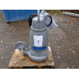 Flygt Xylem type 3171.181 submersible pump, serial no 1910025