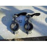 2 x Euro Torc ET W710-7161A GG 25 butterfly valves CF 8m 04