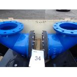 "3 X GA Valves EJ15SH 10 PN16 three way valves 8"""