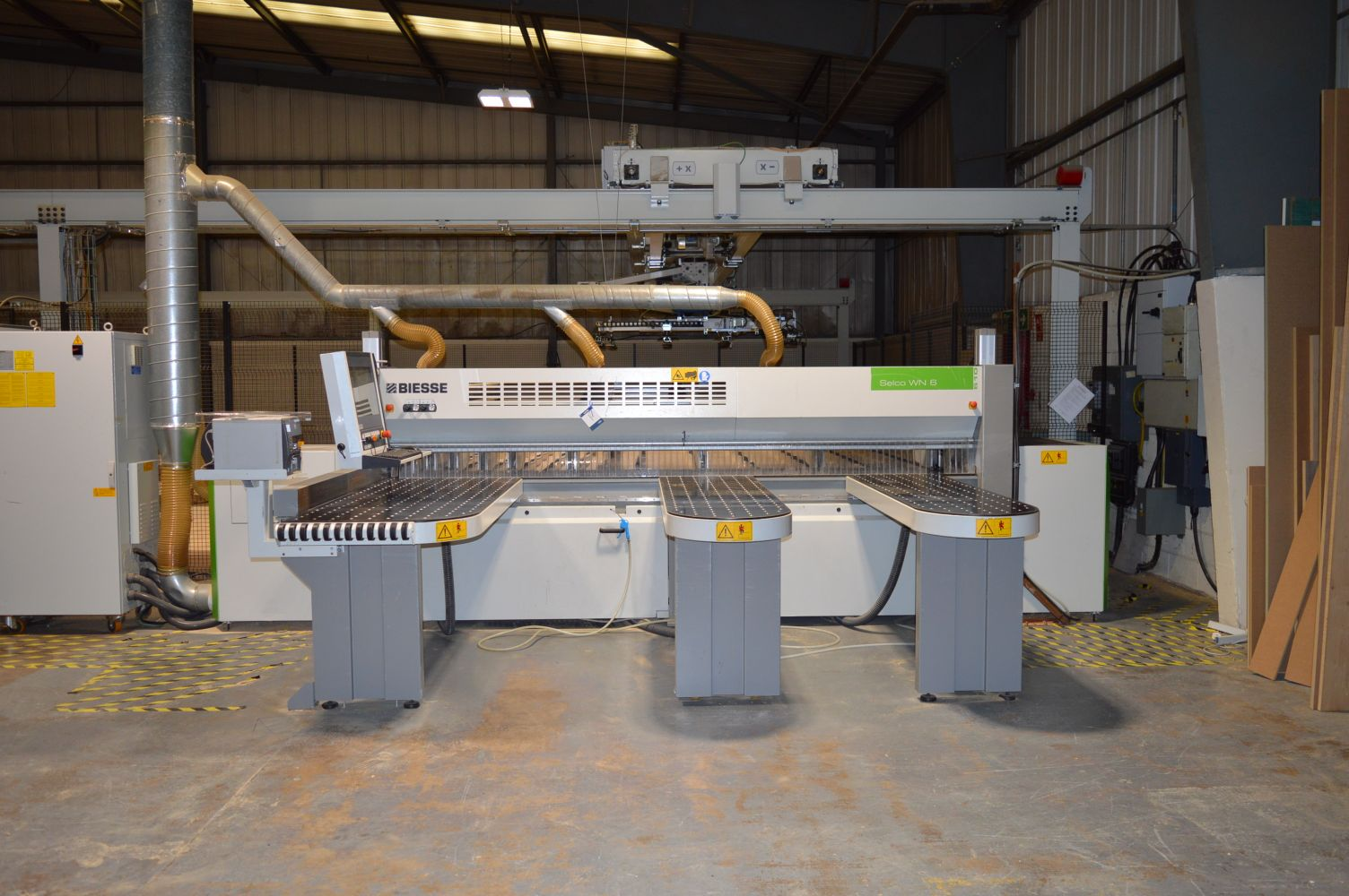 CNC & CONVENTIONAL WOODWORKING PLANT & EQUIPMENT