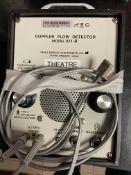 Doppler 811-B Ultrasonic Blood Flow detector. S/No. 811B-6000 15738 - in Small Animal Clinic
