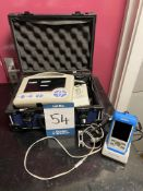Mindray PM-60 vet veterinary pulse oximeter. S/No. CR-93107758 with GTM91094 charger stand and a