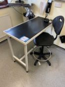 J Tools Scissor lift examination table 80 Kg, 1.06m x 510mm including Everything X-ray Film Viewer