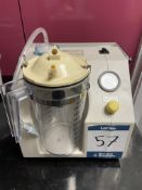 Eschmann VP25II Suction unit. S/No. 1811 - In small Animal Clinic Hospital Kennel Store