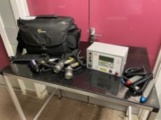 Omega XP low level laser therapy system for tissue repair, pain relief and chronic injury. S/No.