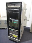 Portable Production Unit (PPU) To include Ross Carbonite Black 2 control desk, Ross SRG-4400 sync
