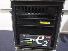 Barco e2 4K Video Processor, To include in flight case Barco e2 Event Master screen management