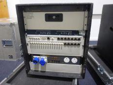 Mini Portable Production Unit (PPU) To include in flight case Panasonic AV-HS3000 Multi-format
