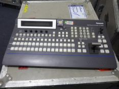 Portable Production Unit (PPU) To include Panasonic Multi-format Live Switcher AV-HS , 450 control