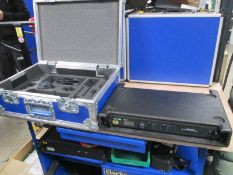 Shure ULXD4D Radio System in Handbag (Qty 2) To include 1 x ULXD4D digital wireless receiver (H51