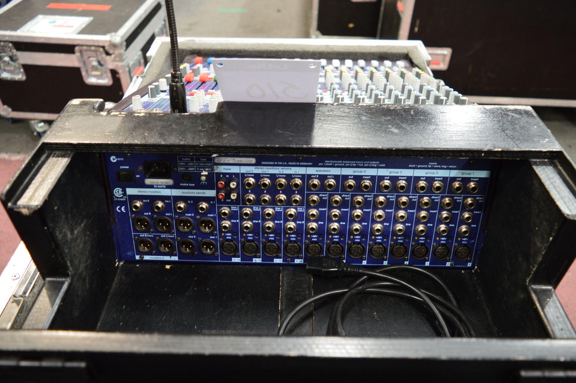 Lot 510 - Midas, Venice 160 16 channel analogue mixing conso