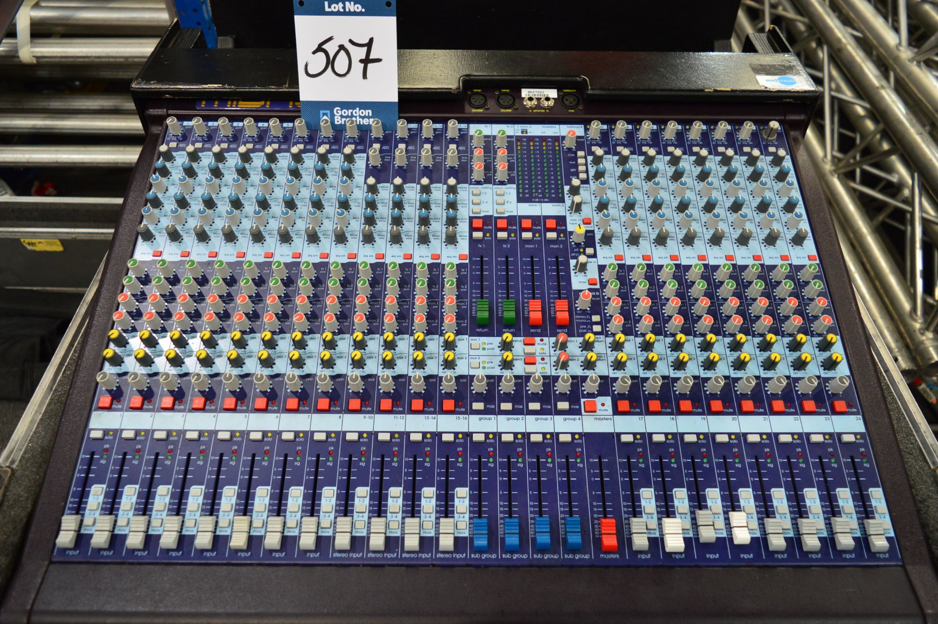 Lot 507 - Midas, Venice 240 24 channel professional live sou