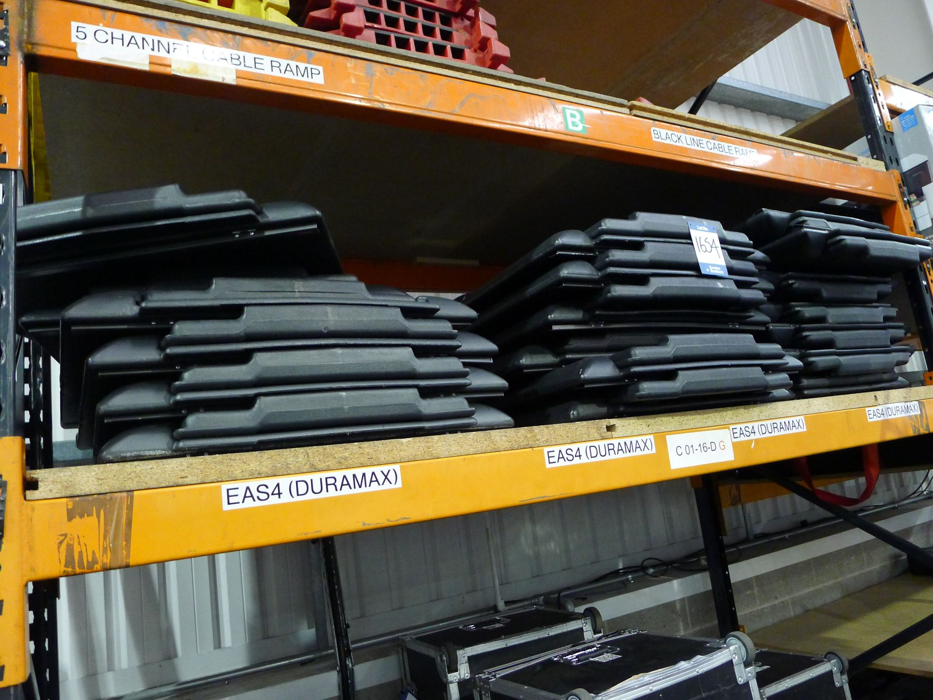 Lot 1654 - 19x Nobo Duramax Flipchart Easels with Carry Bags: