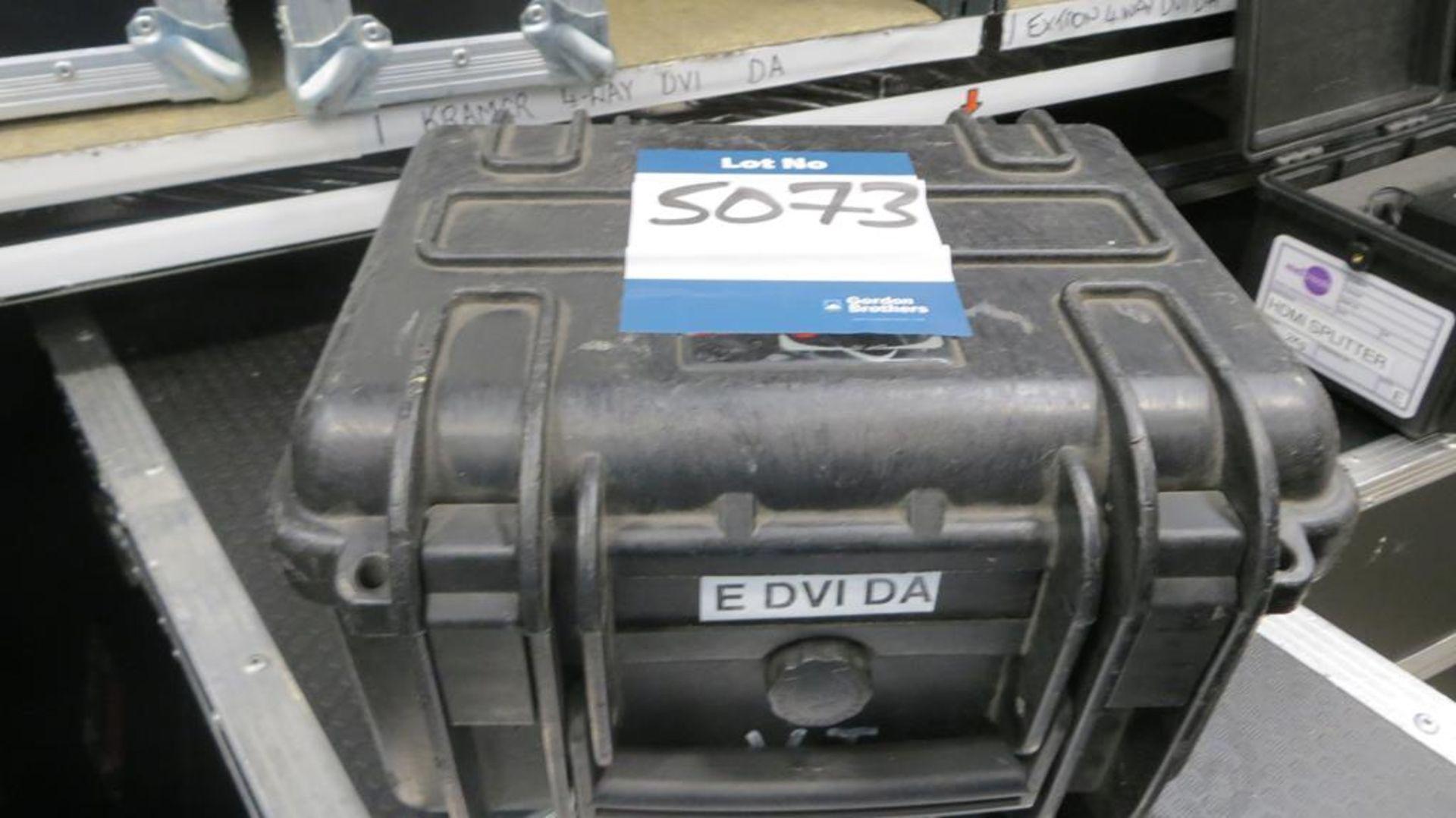 Lot 5073 - Kramer, 1 in 3 out DVI distribution unit in transi