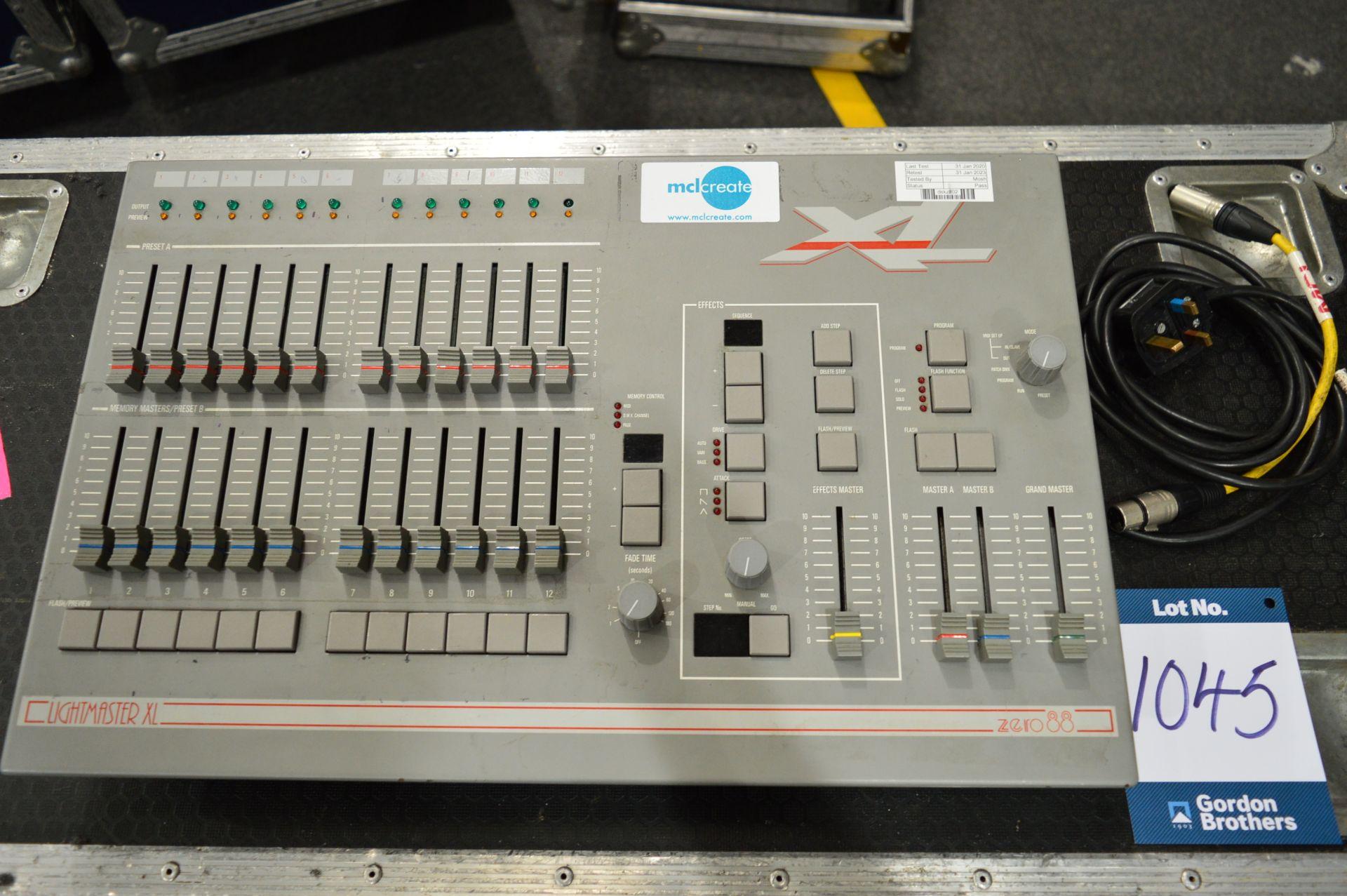 Lot 1045 - Zero88, Lightmaster XL lighting console controller