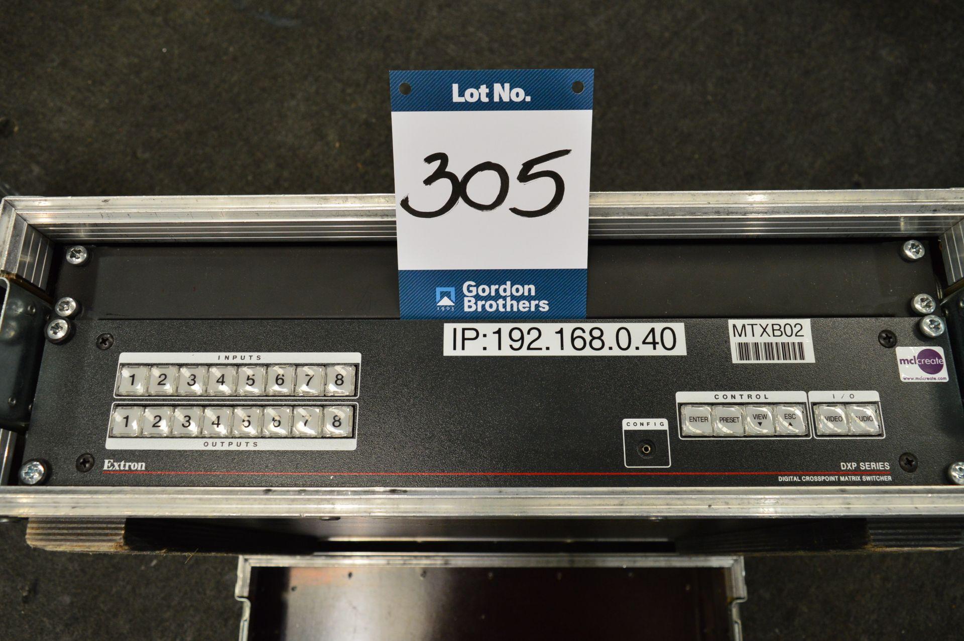 Lot 305 - Extron, DXP Series 8/8 digital cross point matrix